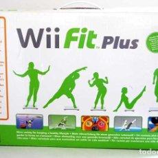 Videojuegos y Consolas: WII FIT PLUS BALANCE BOARD DE NINTENDO. CAJA ORIGINAL. Lote 128614239