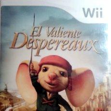 Videojuegos y Consolas: JUEGO WII, EL VALIENTE DESPEREAUX. Lote 128823910