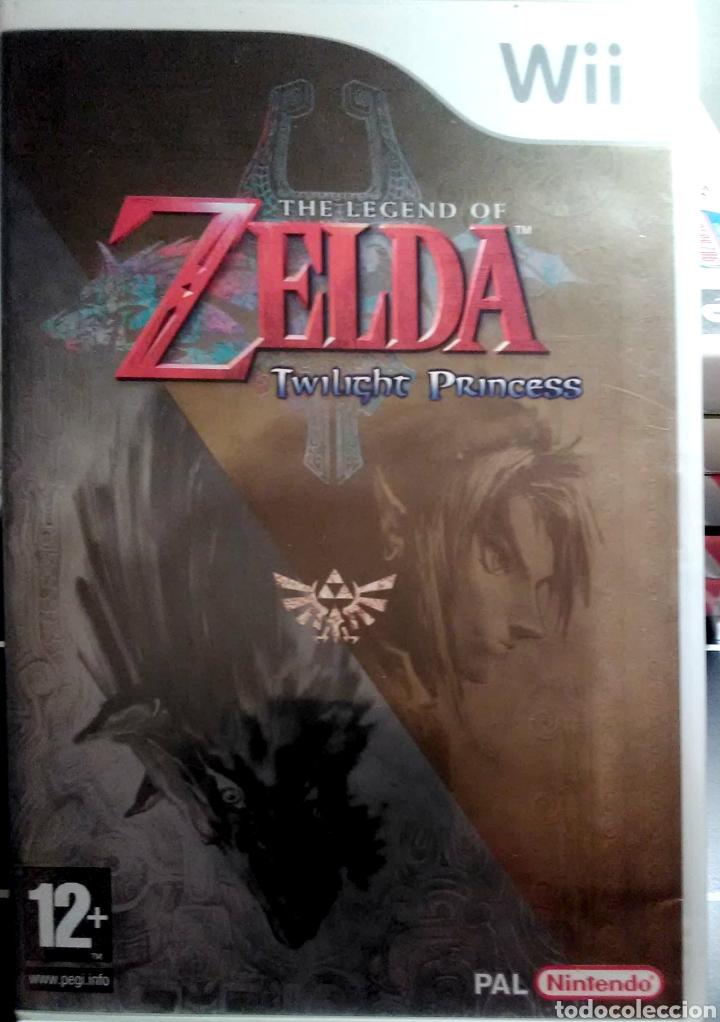 Juego Wii The Legend Of Zelda Twilight Princes Comprar