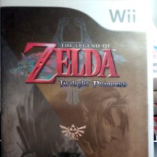 Videojuegos y Consolas: JUEGO WII, THE LEGEND OF ZELDA TWILIGHT PRINCESS. Lote 136424689