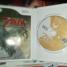 Videojuegos y Consolas: VIDEOJUEGO THE LEGEND OF ZELDA: TWILIGHT PRINCESS - NINTENDO WII - 2006. Lote 129040307