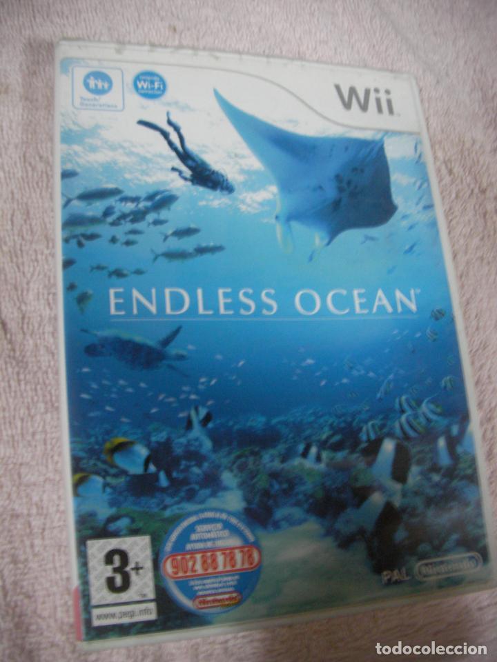 ANTIGUO JUEGO WII - ENDLESS OCEAN (Juguetes - Videojuegos y Consolas - Nintendo - Wii)