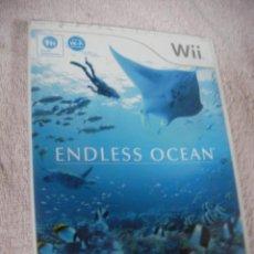 Videojuegos y Consolas: ANTIGUO JUEGO WII - ENDLESS OCEAN. Lote 130624314
