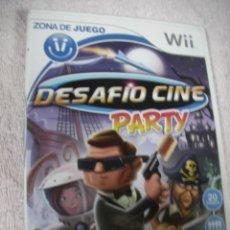 Videojuegos y Consolas: ANTIGUO JUEGO WII - DESAFIO CINE PARTY. Lote 130624402