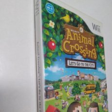 Videojuegos y Consolas: ANIMAL CROSSING - LET'S GO TO THE CITY WII. Lote 131356854