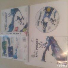 Jeux Vidéo et Consoles: EPIC MICKEY NINTENDO WII PAL-ESPAÑA. Lote 131782086