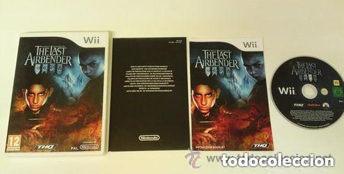 JUEGO NINTENDO WII THE LAST AIRBENDER (Juguetes - Videojuegos y Consolas - Nintendo - Wii)