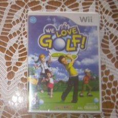 Videojuegos y Consolas: JUEGO NINTENDO WII WE LOVE GOLF. Lote 132350342