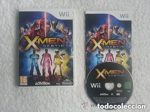 JUEGO NINTENDO WII X-MEN DESTINY (Juguetes - Videojuegos y Consolas - Nintendo - Wii)