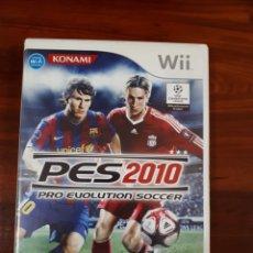 Videojuegos y Consolas: PRO EVOLUTION SOCCER 2010 - PES 2010 - NINTENDO WII - PAL - FUTBOL. Lote 114804579