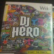 Videojuegos y Consolas: JUEGO NINTENDO WII DJ HERO. Lote 133715894