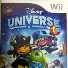 Videojuegos y Consolas: DISNEY UNIVERSE - WII. Lote 133766350