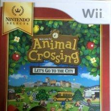 Videojuegos y Consolas: ANIMAL CROSSING - LET'S GO TO THE CITY - WII. Lote 133767442