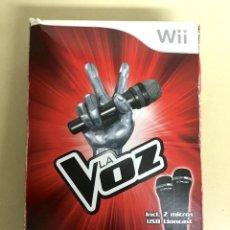Videojuegos y Consolas: LA VOZ + 2 MICROS - WII. Lote 133767778