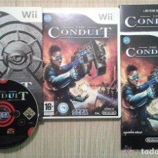 Videojuegos y Consolas: JUEGO NINTENDO WII THE CONDUIT EDICION COLECCIONISTA. Lote 133869978