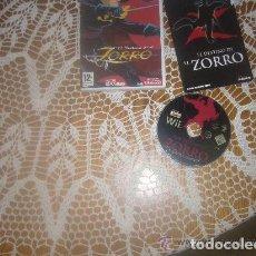 Videojuegos y Consolas: JUEGO NINTENDO WII EL DESTINO DE EL ZORRO. Lote 133870014