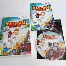 Videojuegos y Consolas: RAYMAN ORIGINS - NINTENDO WII - COMPLETO CON INSTRUCCIONES - MUY BUEN ESTADO. Lote 133900986