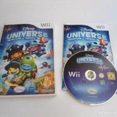 Videojuegos y Consolas: DISNEY UNIVERSE - NINTENDO WII - COMPLETO CON INSTRUCCIONES - MUY BUEN ESTADO. Lote 133904330