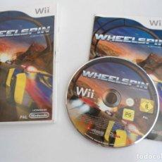 Videojuegos y Consolas: WHEELSPIN - NINTENDO WII - COMPLETO CON INSTRUCCIONES - COMO NUEVO. Lote 133909174