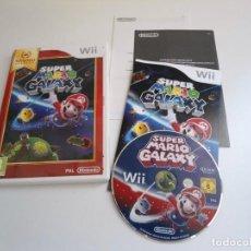 Videojuegos y Consolas: SUPER MARIO GALAXY - NINTENDO WII - COMPLETO CON INSTRUCCIONES - MUY BUEN ESTADO. Lote 133910314