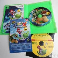 Videojuegos y Consolas: SUPER MARIO GALAXY 2 & DVD CON INSTRUCCIONES Y CONSEJOS - NINTENDO WII - BUEN ESTADO. Lote 133952678