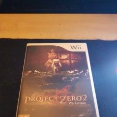 Videojuegos y Consolas: NINTENDO WII PROJECT ZERO 2. Lote 133970318