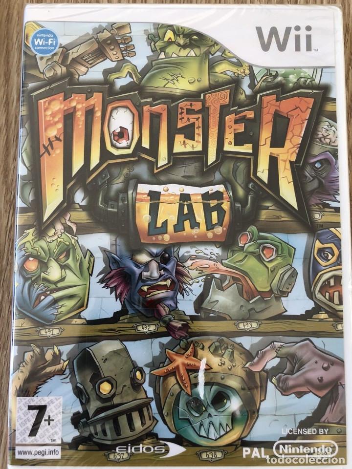 JUEGO NINTENDO WII MONSTER LAB (Juguetes - Videojuegos y Consolas - Nintendo - Wii)