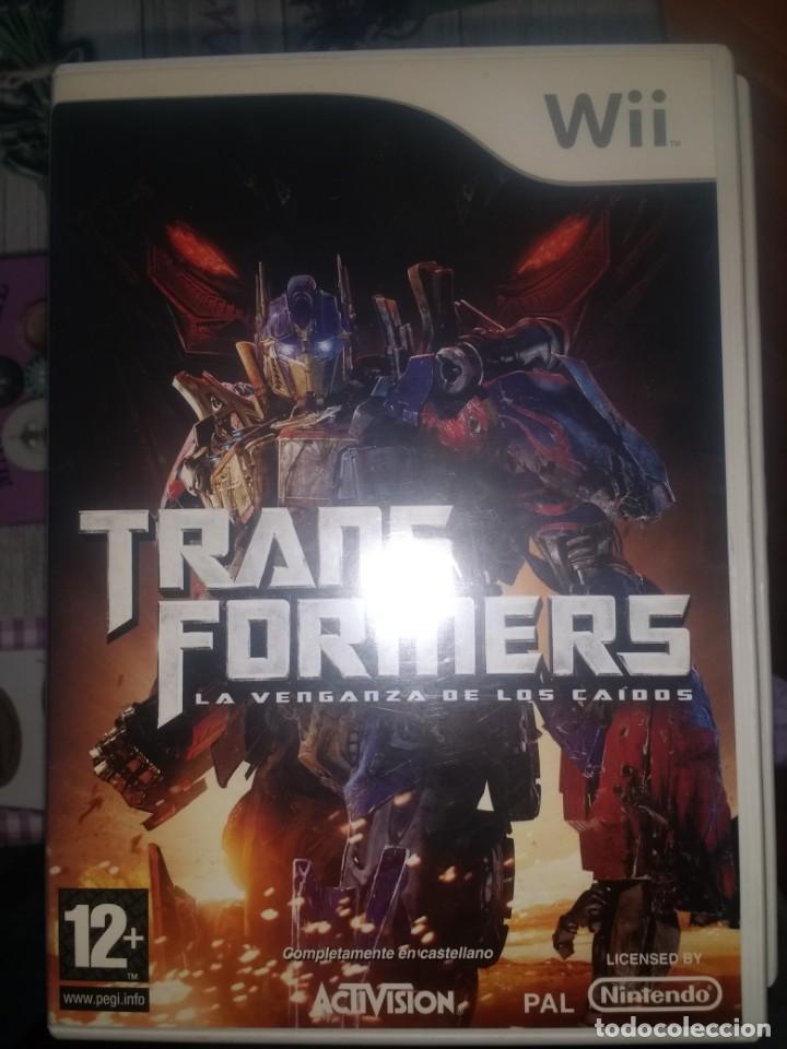 TRANSFORMERS WII LA VENGANZA DE LOS CAIDOS (Juguetes - Videojuegos y Consolas - Nintendo - Wii)