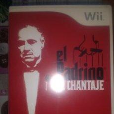 Videojuegos y Consolas: EL PADRINO WII EL CHANTAJE. Lote 134239922
