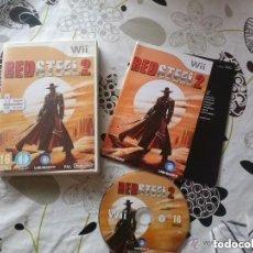 Videojuegos y Consolas: JUEGO NINTENDO WII RED STEEL 2. Lote 134249286
