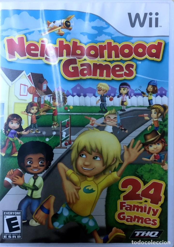 Neighborhood Games Wii Comprar Videojuegos Y Consolas Nintendo