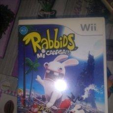 Videojuegos y Consolas: WII RABBIDS MI CAAASA RAYMAN. Lote 134447690