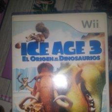 Videojuegos y Consolas: WII ICE AGE 3 EL ORIGEN DE LOS DINOSAURIOS. Lote 134448026