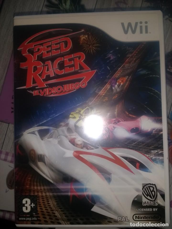 WII SPEED RACER EL VIDEOJUEGO SPEEDRACER (Juguetes - Videojuegos y Consolas - Nintendo - Wii)