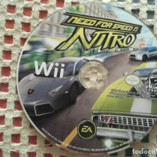 Videojuegos y Consolas: NEED FOR SPEED NITRO WII NINTENDO KREATEN. Lote 134559062