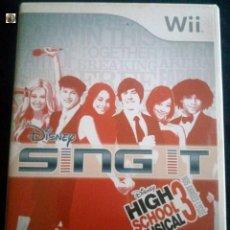 Videojuegos y Consolas: JUEGO NINTENDO WII *HIGH SCHOOL MUSICAL 3*. Lote 134877114