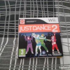 Videojuegos y Consolas: JUST DANCE 2 PAL ESPAÑA NINTENDO WII -. Lote 134920530