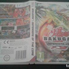 Videojuegos y Consolas: BAKUGAN, DEFENDERS OF THE CORE. O * WII PAL ESPAÑA COMPLETO COMO NUEVO. Lote 135052022