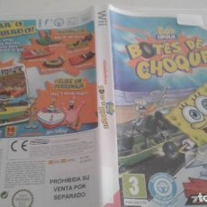 Videojuegos y Consolas: BOB ESPONJA. BOTES DE CHOQUE. Lote 135064294