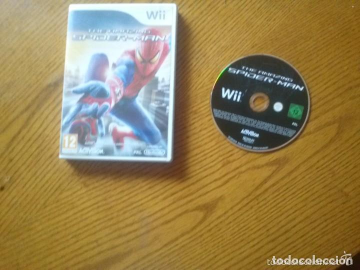 JUEGO NINTENDO WII THE AMAZING SPIDER-MAN (Juguetes - Videojuegos y Consolas - Nintendo - Wii)