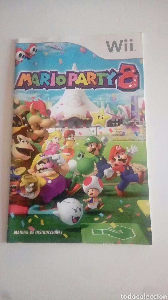 Instrucciones Juego Wii Mario Party 8 Comprar Videojuegos Y