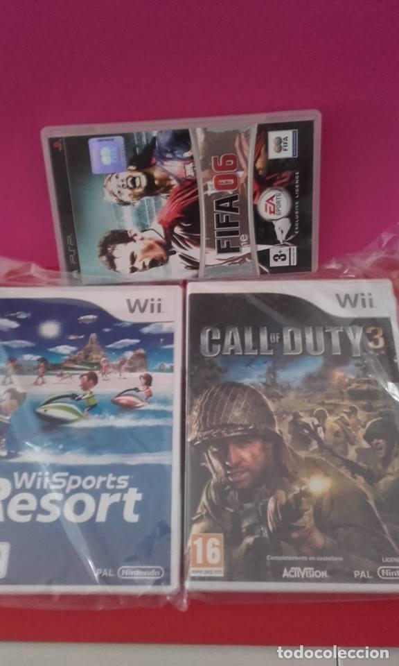 Lote De 2 Juegos Wii Regalo Fifa 06 Psp Comprar Videojuegos Y