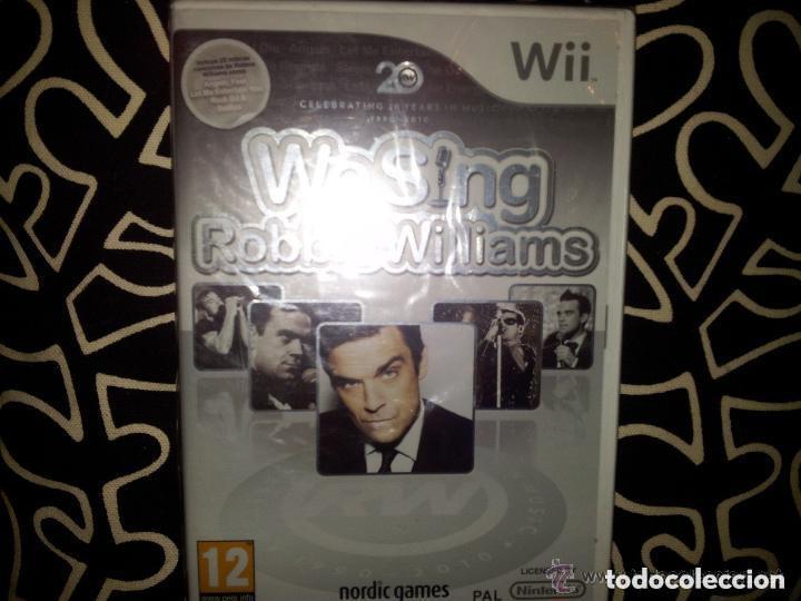 JUEGO NINTENDO WII WE SING ROBBIE WILLIAMS (Juguetes - Videojuegos y Consolas - Nintendo - Wii)