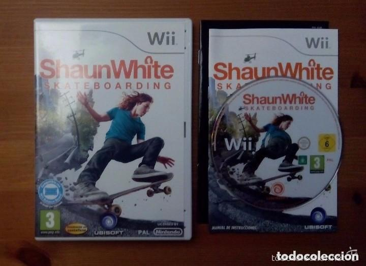 JUEGO NINTENDO WII SHAUN WHITE SKATEBOARDING (Juguetes - Videojuegos y Consolas - Nintendo - Wii)