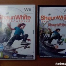 Videojuegos y Consolas: JUEGO NINTENDO WII SHAUN WHITE SKATEBOARDING. Lote 136766626