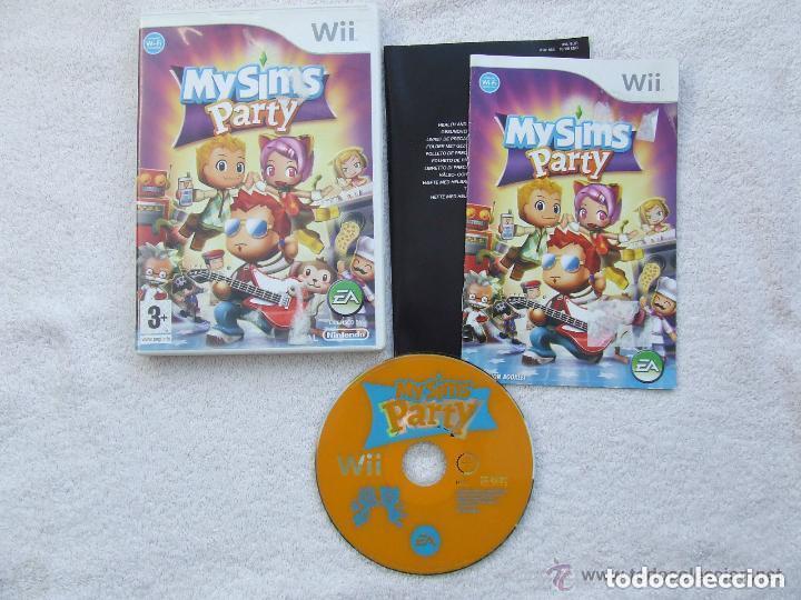 JUEGO NINTENDO WII MY SIMS PARTY (Juguetes - Videojuegos y Consolas - Nintendo - Wii)