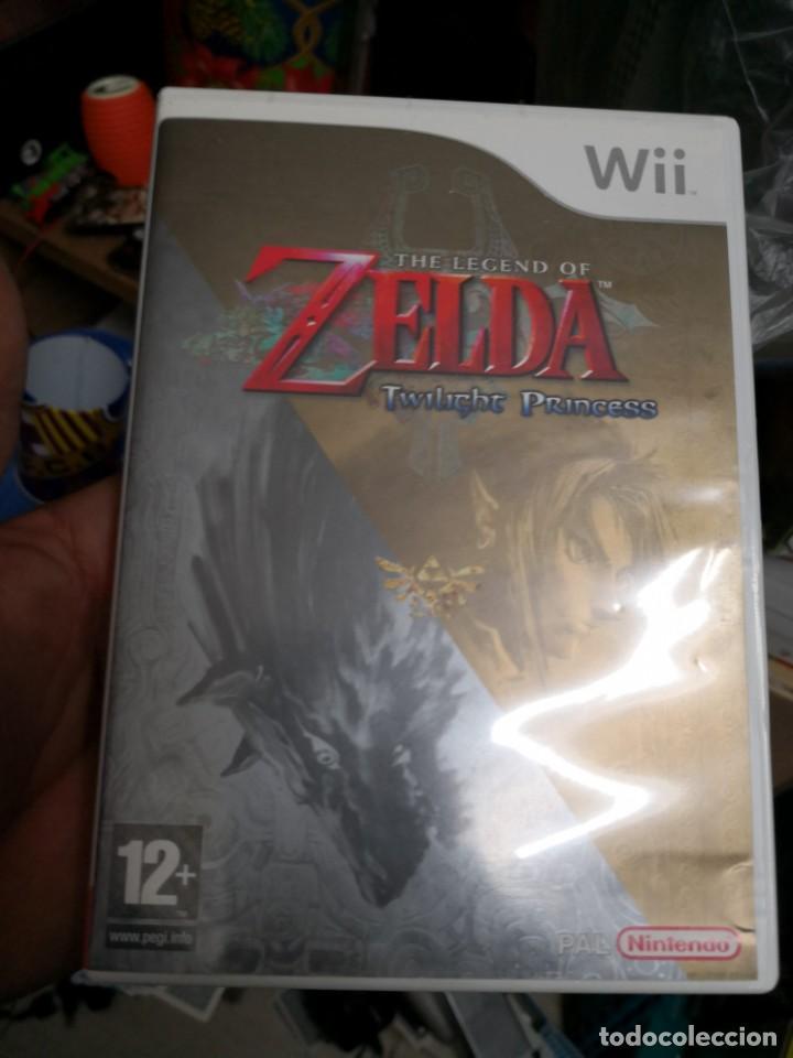 Juego Para Wii Wii Zelda Twilight Princess Comprar Videojuegos Y