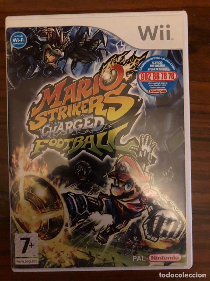 Juego Mario Strikers Charged Football Wii Comprar Videojuegos Y