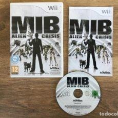 Videojuegos y Consolas: MBI ALIEN CRISIS NINTENDO WII ( JUEGO COMPLETO CON INSTRUCCIONES ). Lote 138212366