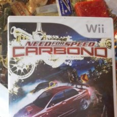 Videojuegos y Consolas: NEED FOR SPEED CARBONO NINTENDO WII. Lote 138748558